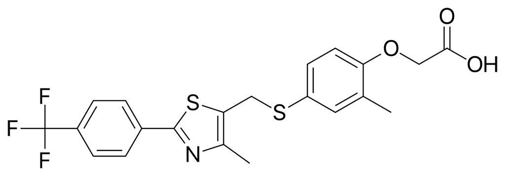 cardarine gw501516 molecule