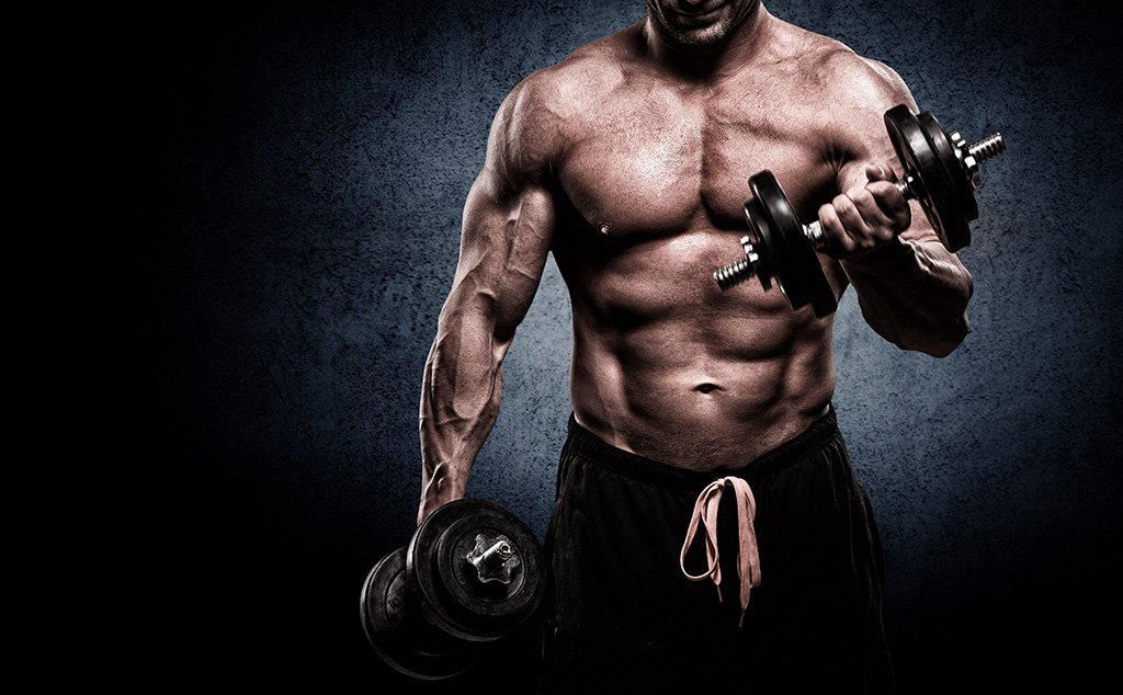 muscular man on andarine s4