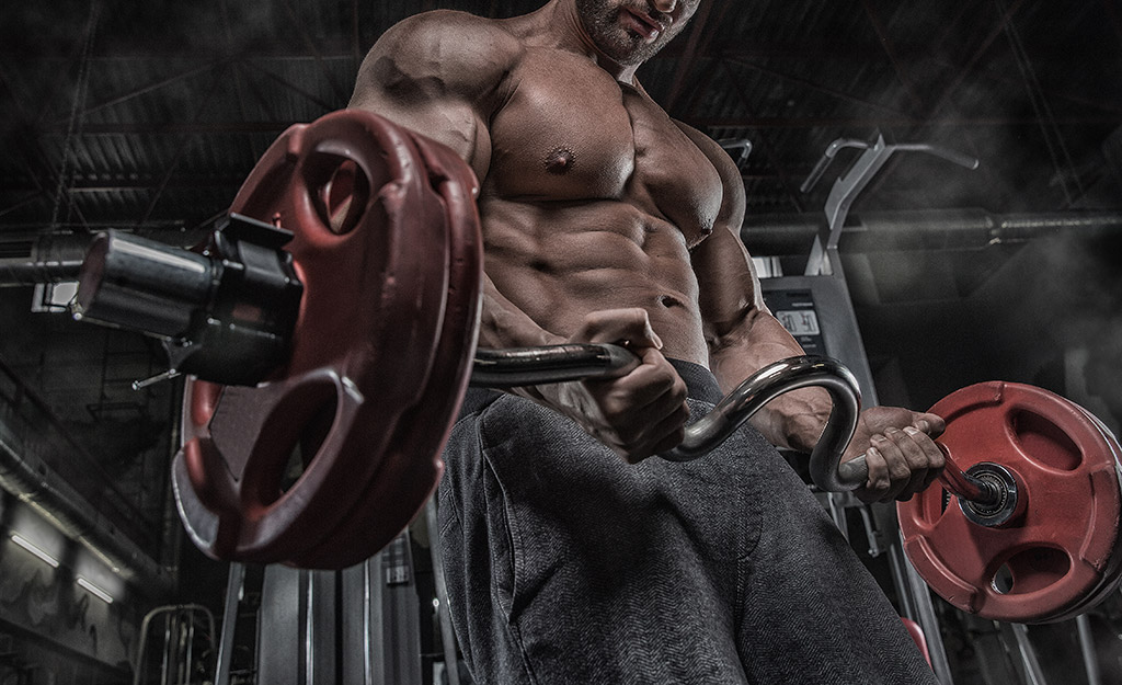 muscle sports athlete lifting barbell