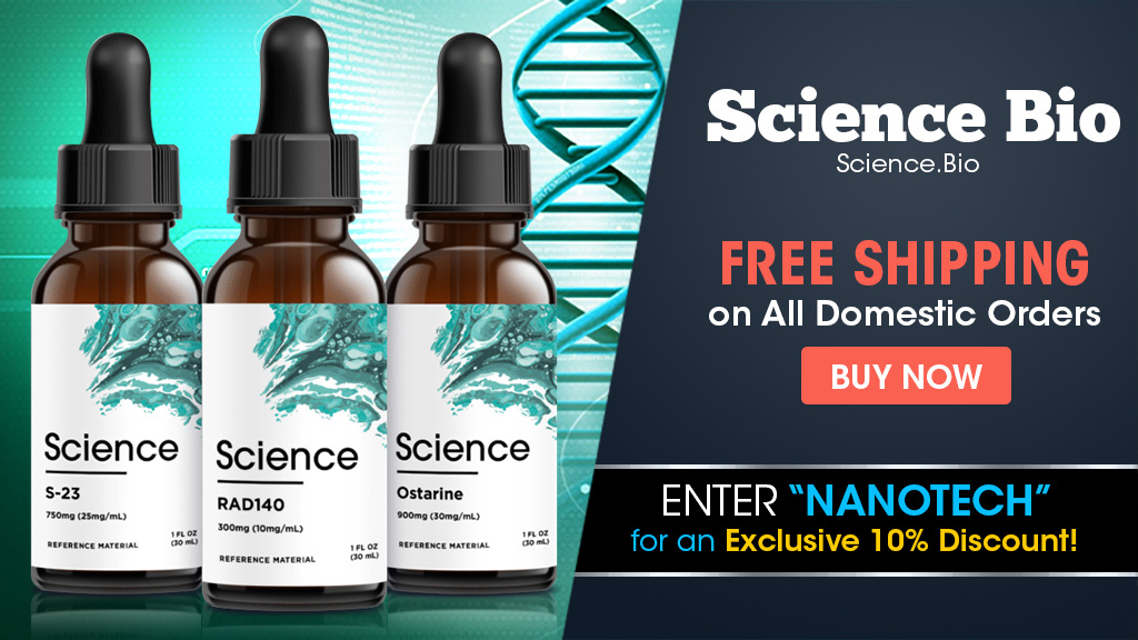 science bio banner ad